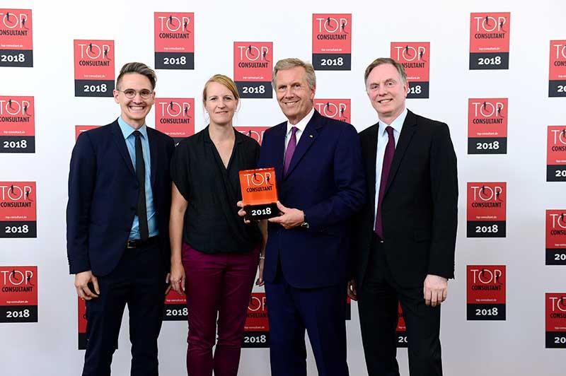 Top Consultants-Preisverleihung 2018