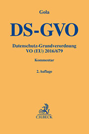 Buchcover DS-GVO