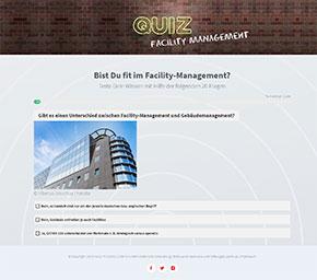 Screenshot vom FM-Quiz